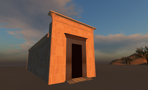 Chapelle Rouge - Image: Chapelle Rouge in SL 800 485