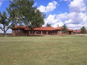 Tallgrass Prairie Preserve - Ranch Headquarters