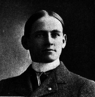 Charles Dvorak - Charles Dvorak from 1901 Michiganensian