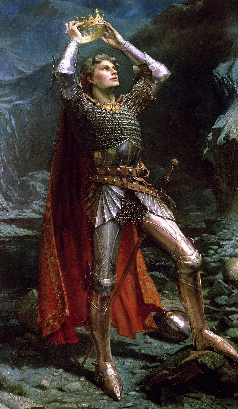 Charles Ernest Butler - King Arthur