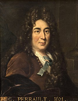 Portret Charles Perrault, ca. 1685-1700