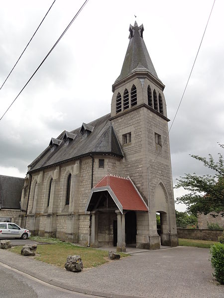 Chassemy (Aisne) église Saint-Martin