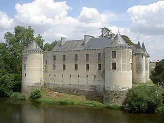 Antoinette de Maignelais - Château de la Guerche along the Creuse River