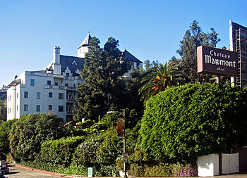 Chateau Marmont Hotel in West Hollywood, CA