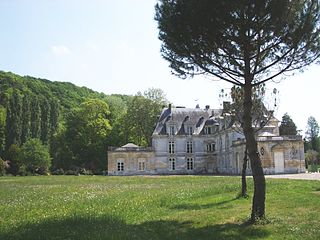 Acquigny Commune in Normandy, France