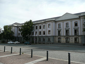 Wismut (mining company) - Head office of Wismut GmbH in Chemnitz-Siegmar