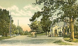 Chester, New Hampshire - Image: Chester Street looking East, Chester, NH