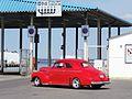 Chevrolet Licence Plate BGE 923 in front of the Gate in Port of Tallinn 13 June 2015.jpg