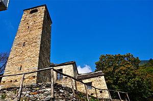 Monte Carasso - San Bernardo church