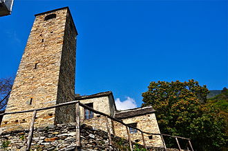 Monte Carasso - San Bernardo church