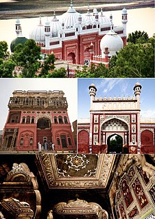 City in Punjab, Pakistan