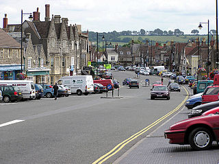 Chipping Sodbury town in Gloucestershire, England