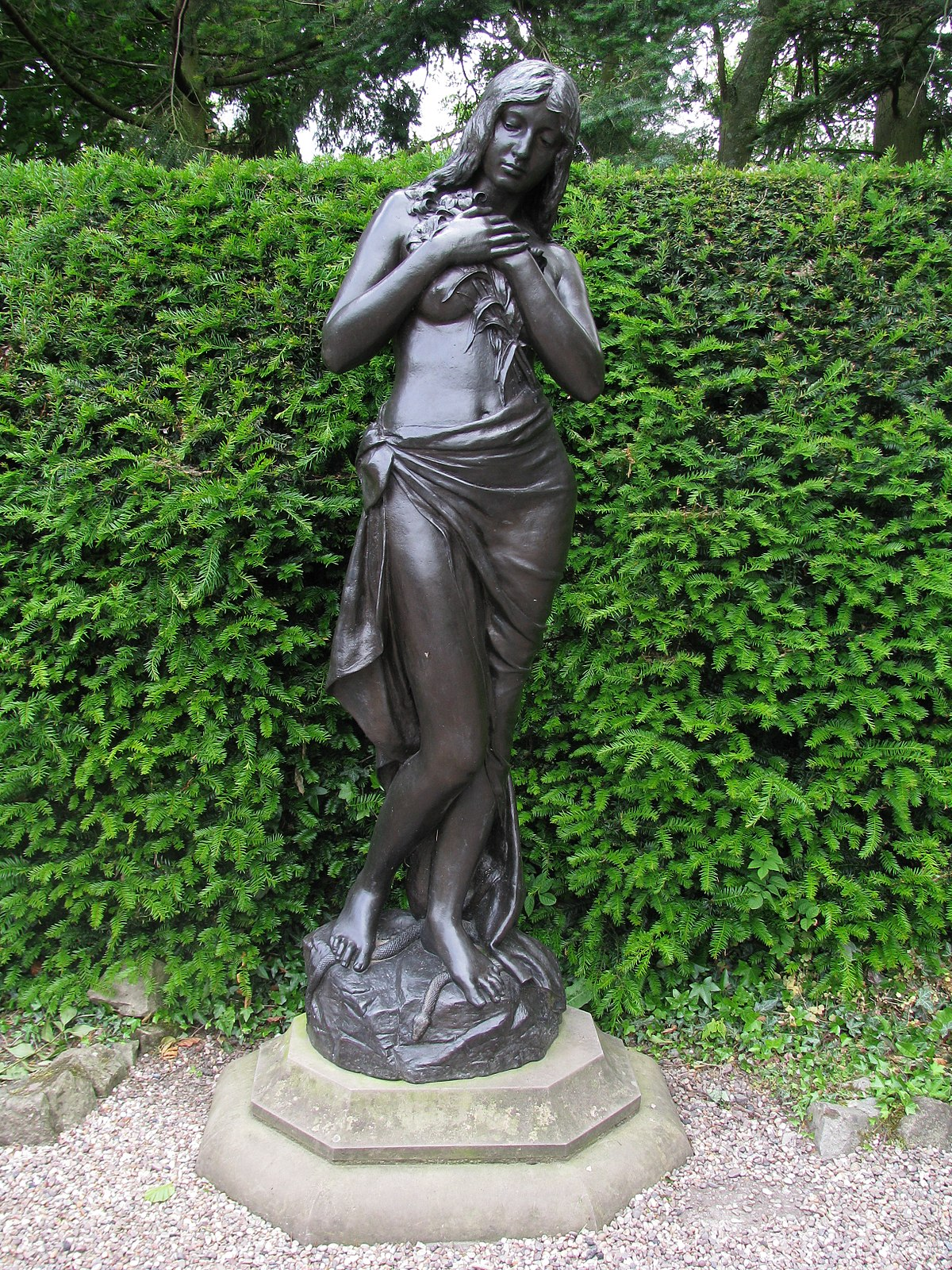 Lithe III Nude Female Wall Sculpture, STU-Home