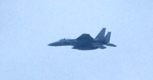 Chitose Air Base - A Chitose Air Base F-15J in mid flight