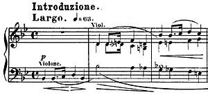 "Variations on ""Là ci darem la mano"" (Chopin) - Opening of the Variations"