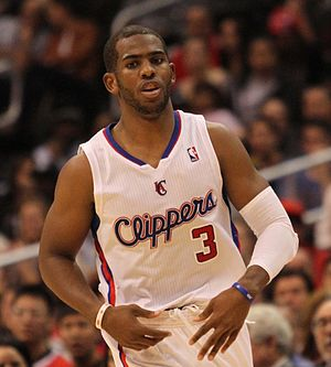 Chris Paul dribbling 20131118 Clippers v Grizzles.jpg