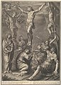 Christ on the Cross Speaks with the Good Prisoner, from The Passion of Christ, plate 20 MET DP835962.jpg