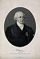 Christian Karl Josias, Freiherr von Bunsen. Stipple engraving by H. Adlard Wellcome V0000906.jpg