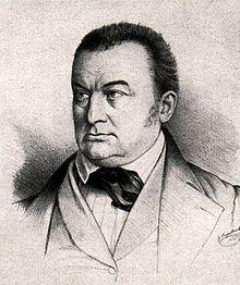 Christoph Friedrich Karl von Kölle. Lithografie von Georg Engelbach (1817–1894) aus dem Jahr 1844 (Quelle: Wikimedia)