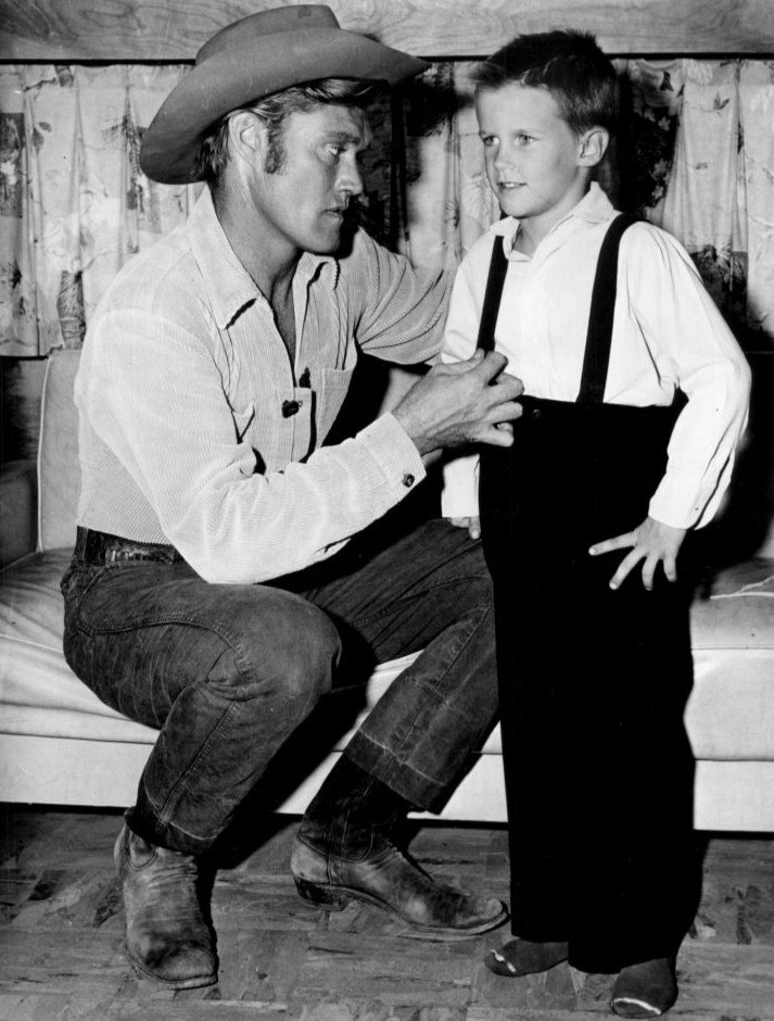 Chuck Connors and son 1959