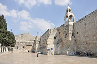 Church of the Nativity basilica in Bethlehem