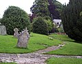 Churchyard, St John the Baptist, Buckhorn Weston - geograph.org.uk - 475419.jpg