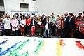 Cibeles lucirá una bandera arcoíris realizada de manera colaborativa para celebrar el WorldPride (05).jpg