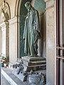 Cimitero monumentale Vantiniano famiglia Da Ponte Domenico Ghidoni Brescia laterale sinistra.jpg