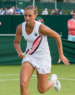 Cindy Burger (tennis) Dutch tennis player