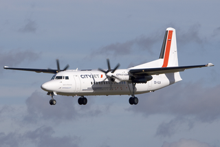 Fokker 50 Regional airliner by Fokker