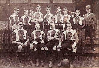 Civil Service F.C. - The Civil Service team of 1893.