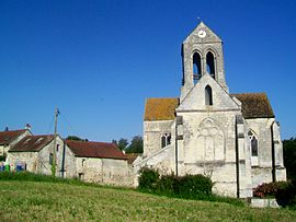 The church of Saint-Germain-de-Paris, in Cléry-en-Vexin