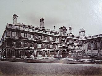 Richard Badew - Clare College, Cambridge University