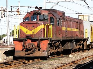 1968 in South Africa - Class 33-400 (GE U20C)