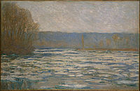 Claude Monet - Ice breaking up on the Seine near Bennecourt - Google Art Project.jpg
