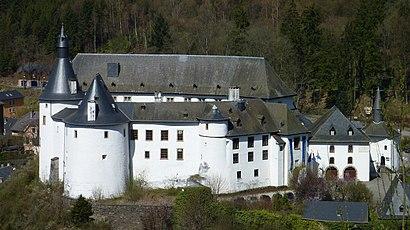 Comment aller à Château De Clervaux en transport en commun - A propos de cet endroit