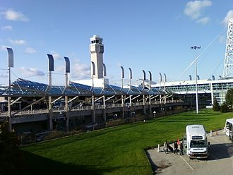 Cleveland Hopkins International Airport - Image: Cleveland Hopkins International Airport Terminal