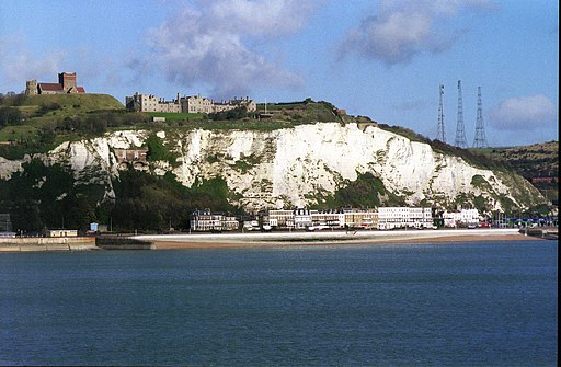 Cliffs of Dover from Ferry