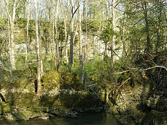 Dayton metropolitan area - Clifton Gorge in John Bryan State Park, near Yellow Springs