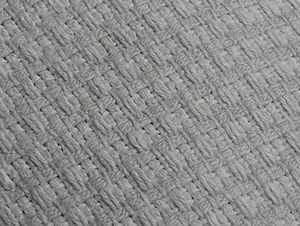 Brazilian jiu-jitsu gi - Image: Close Up of White Gold Weave BJJ Gi (Cropped)