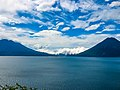 Clouds, Mountains, Lakes - Atitlan Guatemala 2003.jpg