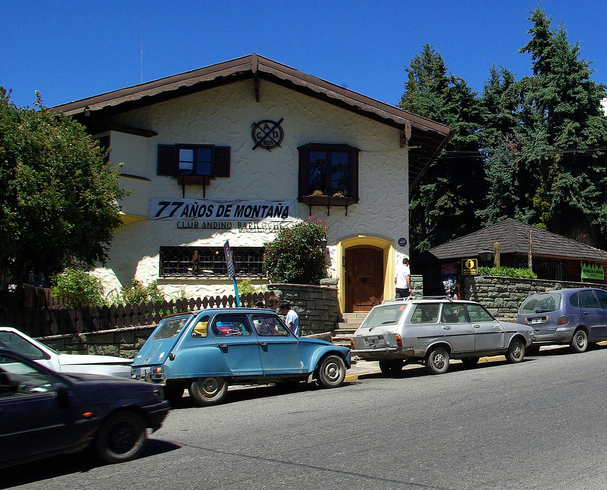 Club andino bariloche wikipedia for Jardin 61 bariloche