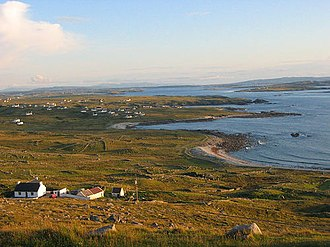 Gweedore - A view of Gweedore from Bloody Foreland.