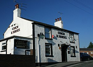 Greasby - The Coach and Horses Inn, Greasby