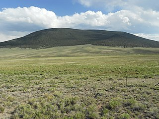 Cochetopa Dome Mountain in Colorado, United States