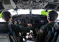 Cockpit of P-8A Poseidon of VP-16 in March 2014.JPG