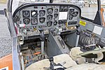 Cockpit of a Pacific Aerospace CT-4A Airtrainer (VH-CIB) at the Wagga Wagga Aero Club open day.jpg