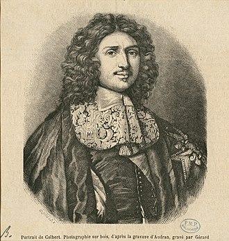 Antoine Lefèbvre de La Barre - Colbert de Seignelay, Minister of Marine