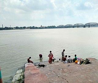 Uttarpara City in West Bengal, India
