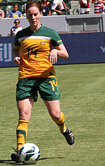 Collette McCallum playing against USWNT 2012.jpg